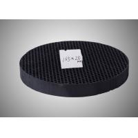 Buy cheap Gas Purification Honeycomb Activated Charcoal , 165 X20mm Round Activated Carbon product
