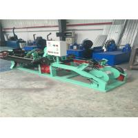 Buy cheap Twisted Barbed Wire Making Machine Horizontal Design With PVC Coated Wire Materials product