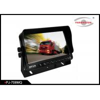 Buy cheap High Brightness Bus Rear View Camera With 7 Inch Digital Quad Screen Monitor product