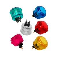 Buy cheap USD1.69---24mm Clear Round-Locking Push Button with built-in switch product