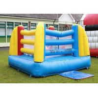 Buy cheap Customized Size And Color Inflatable Mini Boxing Ring For Kids With 2 Sets Boxing Gloves product