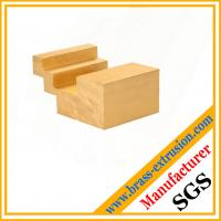Buy cheap C38500 CuZn39Pb3  CuZn39Pb2 CW612N C37700 floor non slip copper alloy extrusion profile sections product