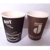 Buy cheap Heat Insualtion Single Wall Paper Cups & Coffee Cups With Printed from wholesalers