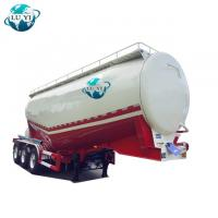 Buy cheap High quality stainless steel 3 Alxe dry bulk cement tanker semi truck trailer for sale product