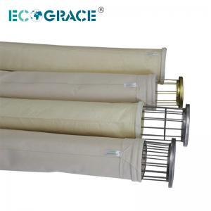 Bolsos de filtro des alta temperatura de los bolsos de filtro de Nomex del filtrado por bolsas