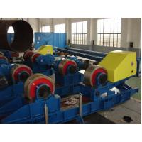 400T Hydraulic Pressure Pipe Welding Rollers , Conventional Pipe Rotators