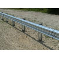 Customized Traffic Guard Rails , Highway Crash Barrier With Protective Coating Layer