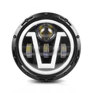 Buy cheap 7 Inch 6500K  85W Halo Fog Lights Auto High Power product