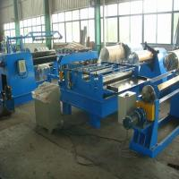 Buy cheap Semiautomatic 380V / 3PH Steel Slitting Line Machine with Hydraulic Tension Station product