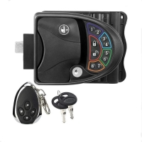 Buy cheap RV Keyless Entry Door Handle Latch with card Wireless Remote Control Caravan Camper Keypad Lock Switch product