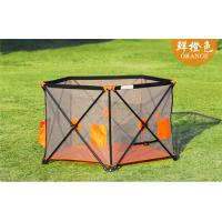 Buy cheap Foldable Safe Outdoor Baby Playpen For Infant / Kids / Children product