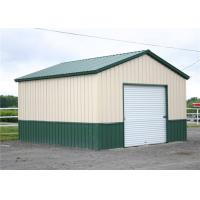 Quality Clear Span Steel Barn Structures With High Security Slop Straight Roof for sale