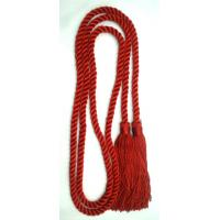 Buy cheap 52 Inches long soft rayon cotton honor cord with 4 inches tassels fringes on both ends product