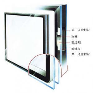 Buy cheap Insonoro de cristal moderada aislada decorativo de encargo para la pared de cortina, teñido/claro product