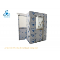 Buy cheap Three Side Blowing 1.2mm Stainless Steel Air Shower For Cleanroom product