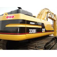 Buy cheap CAT 330 Second Hand Excavators 750mm Shoe Size With 1.5m3 Bucket Capacity from wholesalers