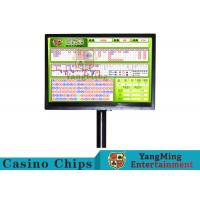 China Electric Baccarat Gambling Systems With Independent Remote Control Keyboard on sale