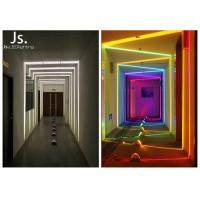 Aluminum Die - Casting Body Led Window Border LightsColorful As Decoration