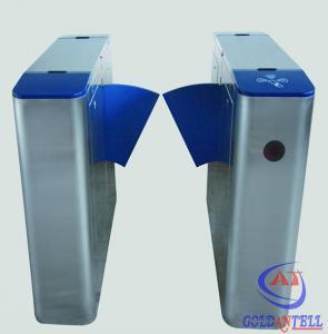 IP54 220v AC Power Flap Barrier Gate Electronic Optical Gate Waist Height