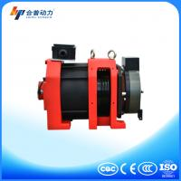 Wtd2 P 450kg Pm Motor Gearless Traction Machine For Cage