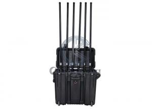 Buy cheap Pelican Case Portable 4 cooling fans 200W Drone Jamming Device product