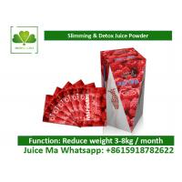 Buy cheap Slimming Raspberry Ketone Enzyme Powder Supplement , Natural Weight Loss Juice Diet product