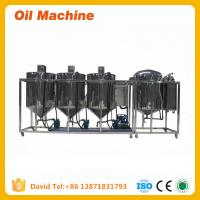 Buy cheap 80kg/h 100kg/h 1TPD small oil refinery machine crude Oil Refinery equipment machine product