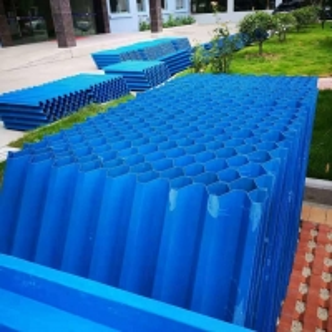 Buy cheap 0.55mm PP PVC Hexagonal Honeycomb Inclined Tube Settler product