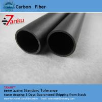 Buy cheap High Strength 3k Carbon Fiber Pipe Corrosion Protection For Machine Parts product