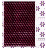 Buy cheap Embossed Pattern PU Coating Fabric with Waterproof, Elastic for Home Textile, Decorative product