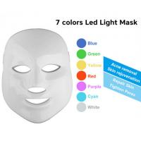 China 7 Colors PDT LED Light Therapy Machine skin led face mask home use wholesale