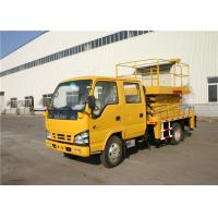 Buy cheap ISUZU 2 Person Aerial Work Platform Truck For Urban Road 7150×2045×3550mm from wholesalers