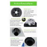 detailed parts of DSW560 kitchen food waste disposer