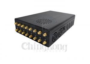 Buy cheap GPSL1-L5 LOJACK 16 Antennas 25m 16W GPS Signal Jammer product