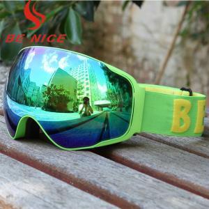 Youth Otg Ski Goggles Mirror Lens