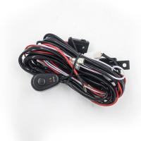 Buy cheap 2.5 Meter Automotive LED light bar Wiring Harness with Connector Remote Controller Switch Control for car product