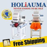 Buy cheap Free shipping high quality high speed single head computer embroidery machine better than aari embroidery machine product