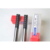 Buy cheap 6 Flue / 8 Flute End Mill Drill Bits , Cutting Tools For Milling Machine Tool Bits product