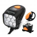 China magicshine bike lights led mtb lights rechargeable bike kit mountain bike night lights8000lm wholesale
