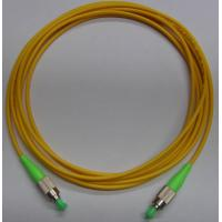 Quality 1, 2, 3 meter or customized Yellow color FC APC Fiber Optic Patch Cord with LSZH cable for sale