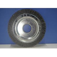 Buy cheap Stainless Steel Wire Wheel Brush Industrial Cleaning Brushes 10mm Thickness product