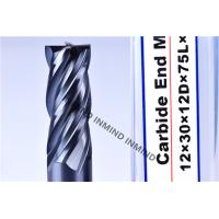 Buy cheap AlTiN Coating High Speed Steel End Mill 16mm / 18mm / 20mm 2Flute 4 Flute M42 Co8% product