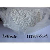 Buy cheap Oral Femara / Letrozole CAS NO 112809-51-5 Natural Anti Estrogen Supplements from wholesalers