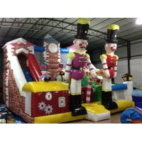 Buy cheap Customized Commercial Inflatable Water Slides / Blow Up Soldier Castle Guard Themed PVC Dry Slide product