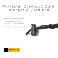Buy cheap Polyester Drawcord Cord Stopper & Cord End product