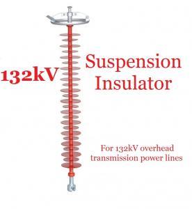 Buy cheap type isolateurs de suspension du polymère 132kV légers pour des sous-stations product