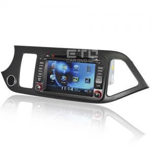 Buy cheap Kia Morning In Car Stereo Sat Nav Auto Radio GPS Navigation VKK8868 For  Kia Sat Nav product