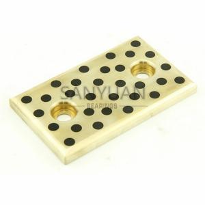 Buy cheap Bucha livre de Oilless do RUÍDO do rolamento de deslizamento da bucha do guia de Oill bronze de bronze da placa de guia do molde da placa do desgaste do auto product