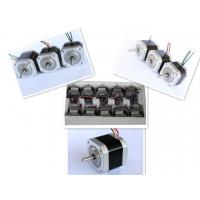 China Nema 17 Four Phase Hybrid Stepper Motor For Textile Machinery / CNC Router on sale