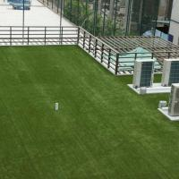 China Polyethylene Low Cost  Artificial Grass On Flat Roof  20-40 Mm Height on sale